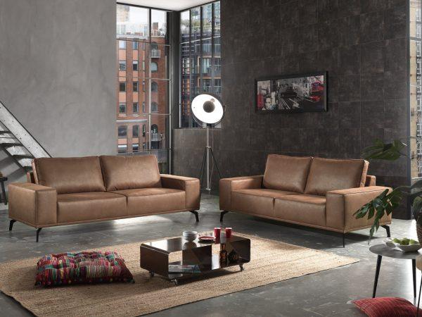 Salon Canape Design Bruxelles Nevada 3/2