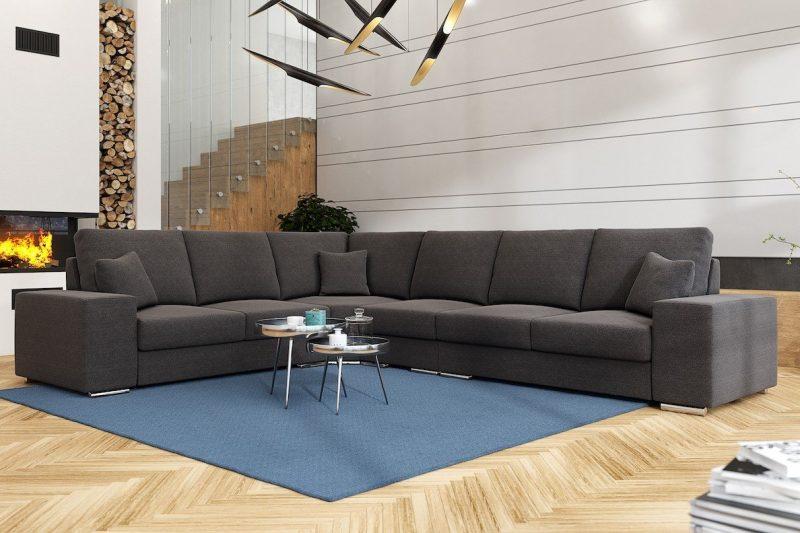 Salon Canape Design Bruxelles Rosa 3