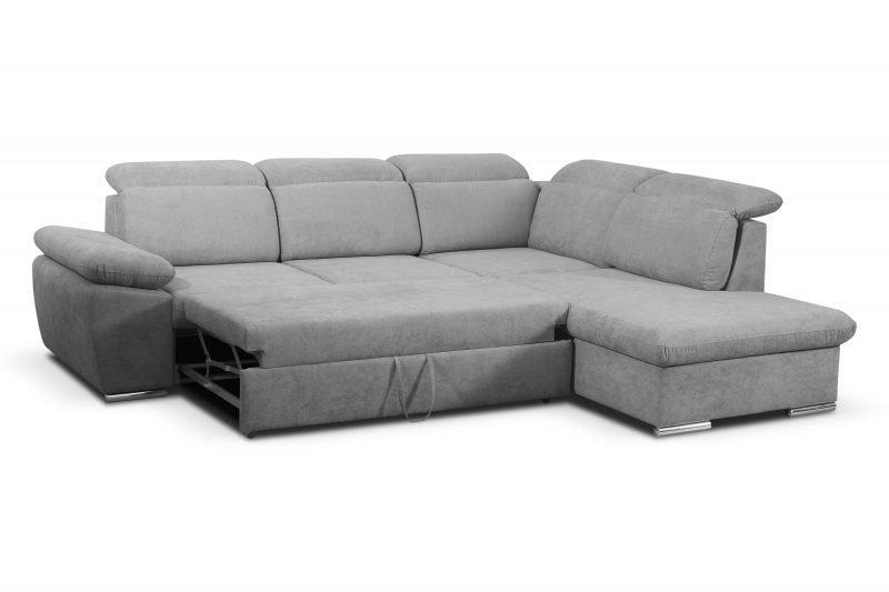 Salon Canape Design Convertible Bruxelles Aldo grey bed